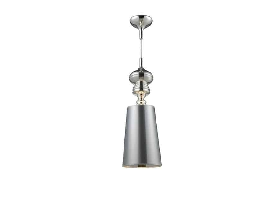 Lampa Wisząca Baroco Md681 2 Silver Azzardo