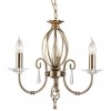 Lampa wisząca AEGEAN AG3 AGED BRASS - Elstead Lighting