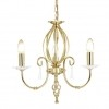 Lampa wisząca  AEGEAN AG3 POL BRASS - Elstead Lighting
