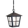 Lampa wisząca CANTERBURY BL48M BLACK IP44 - Elstead Lighting