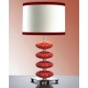 Lampa stołowa LUIS COLLECTION LUI/ONYX RED + LUI/LS1139 - Elstead Lighting