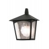 Kinkiet  YORK BL15 BLACK IP23 - Elstead Lighting