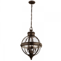 Lampa wisząca ADAMS FE/ADAMS/3P BRZ - Elstead Lighting