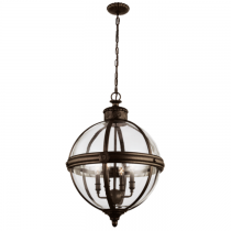 Lampa wisząca ADAMSFE/ADAMS/4P BRZ - Elstead Lighting