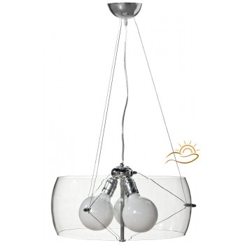 Lampa wisząca MOON SHADOW CLEAR 40 LM011 - Light Max
