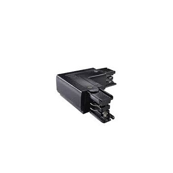 LINK TRIMLESS L-CONNECTOR LEFT BLACK 169712 -Ideal Lux